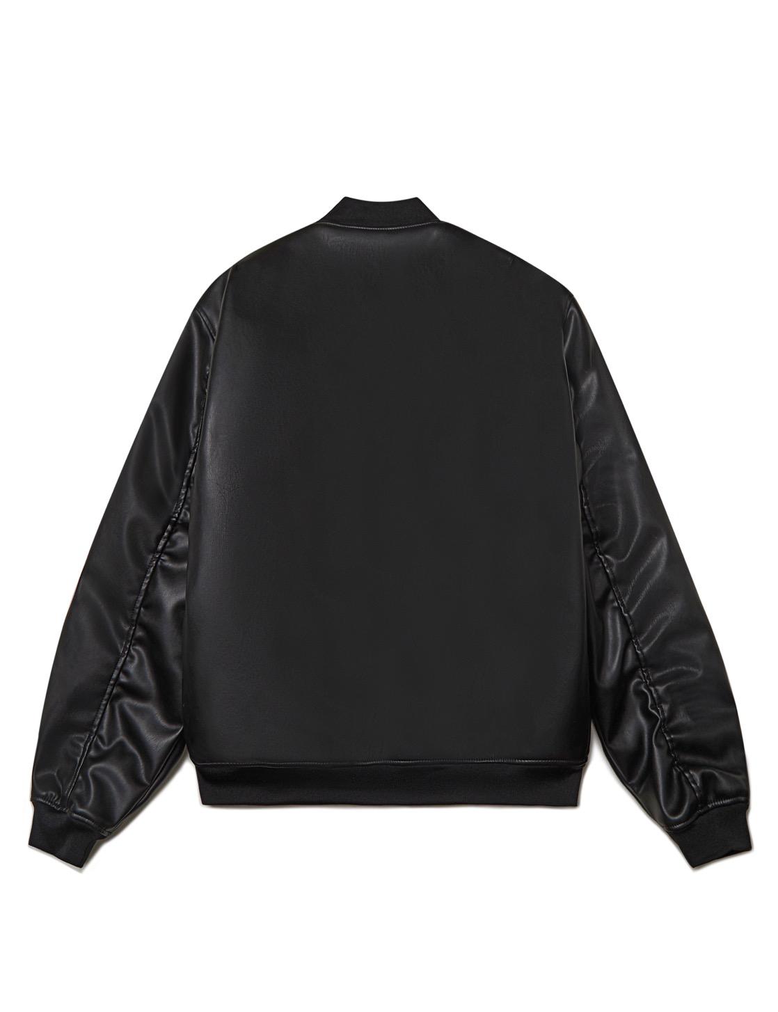 Куртка-бомбер ZNY LEATHER
