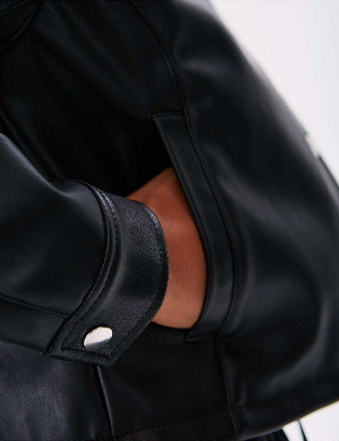 Куртка ZNY CROP LEATHER